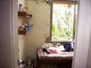 My room, during my brief stay in Mumbai in 2006