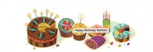 Customised Google Doodle